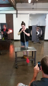 Glass Blowing demo