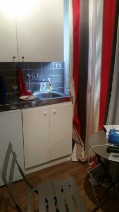 Tiny apartment kitchen!
